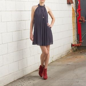 Beautiful Pleated Cocktail Dress by Naked Zebra